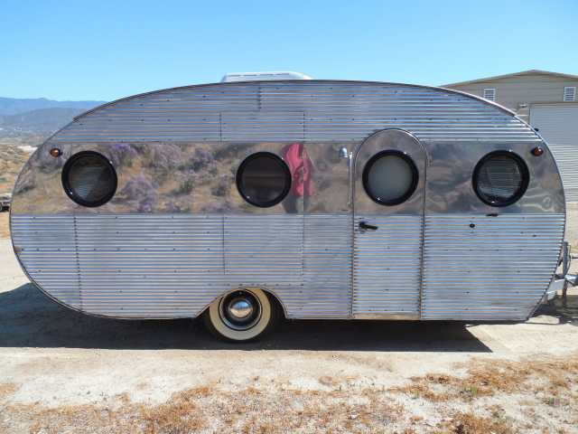 1950 Airfloat Vintage Travel Trailer