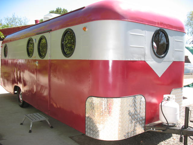1948 Westcraft Westwood 24' RESTORED with FULL bathroom