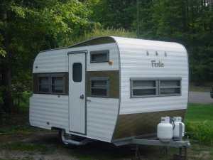 1969 vintage frolic camper in Detroit
