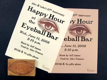 Eyeball Bar Poster