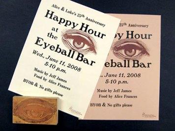 Eyeball Bar Poster