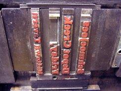 Letterpress Lockup