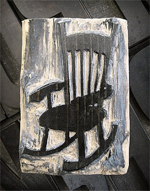 Rocking Chair Woodcut