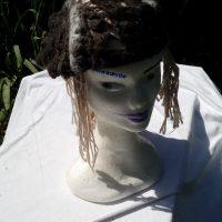 Bonnet Alpaga noir et gris