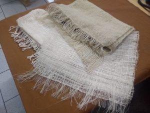 Trois fibres différentes, trois pièces différentes...