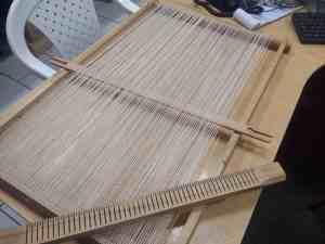 Montage d'une nouvelle chaîne en coton sur Tissanova