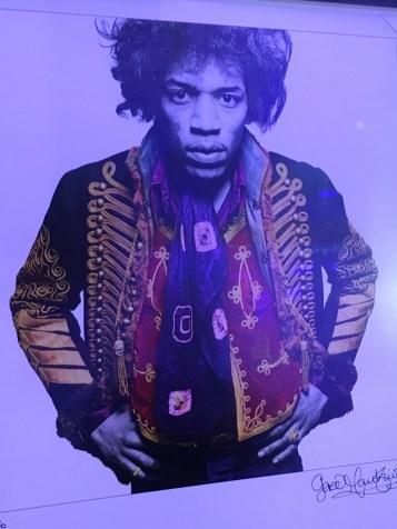 Military fashion with Jimi Hendrix.