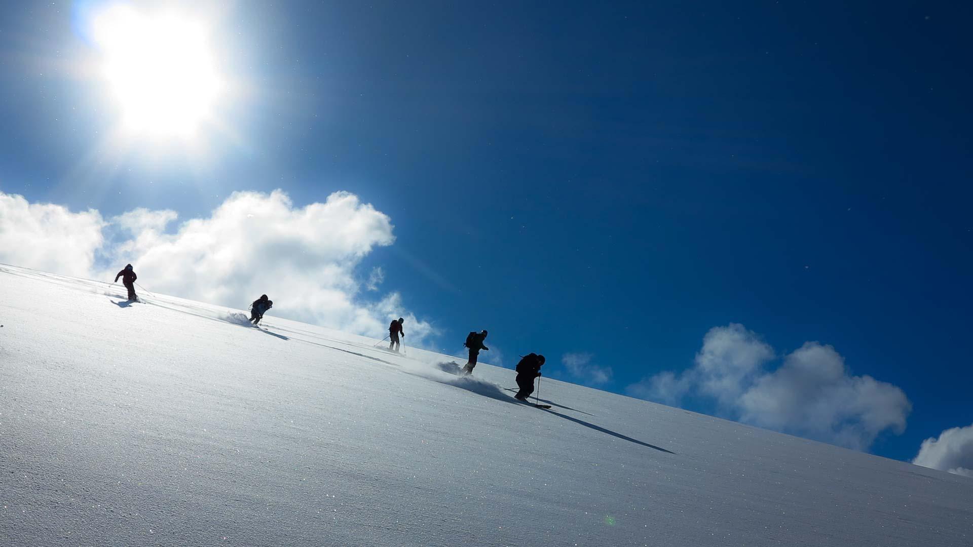 topptur med guide på Voss