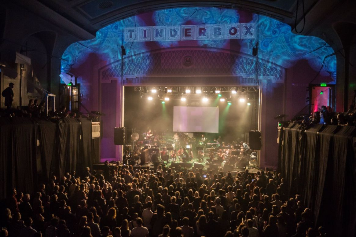 Tinderbox is a collective of young people, musicians, artists and youth workers in Scotland.