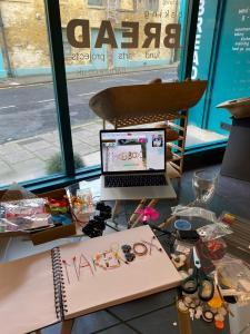 Making Of Tinderbox Makerbox Logo At Narture Ayr