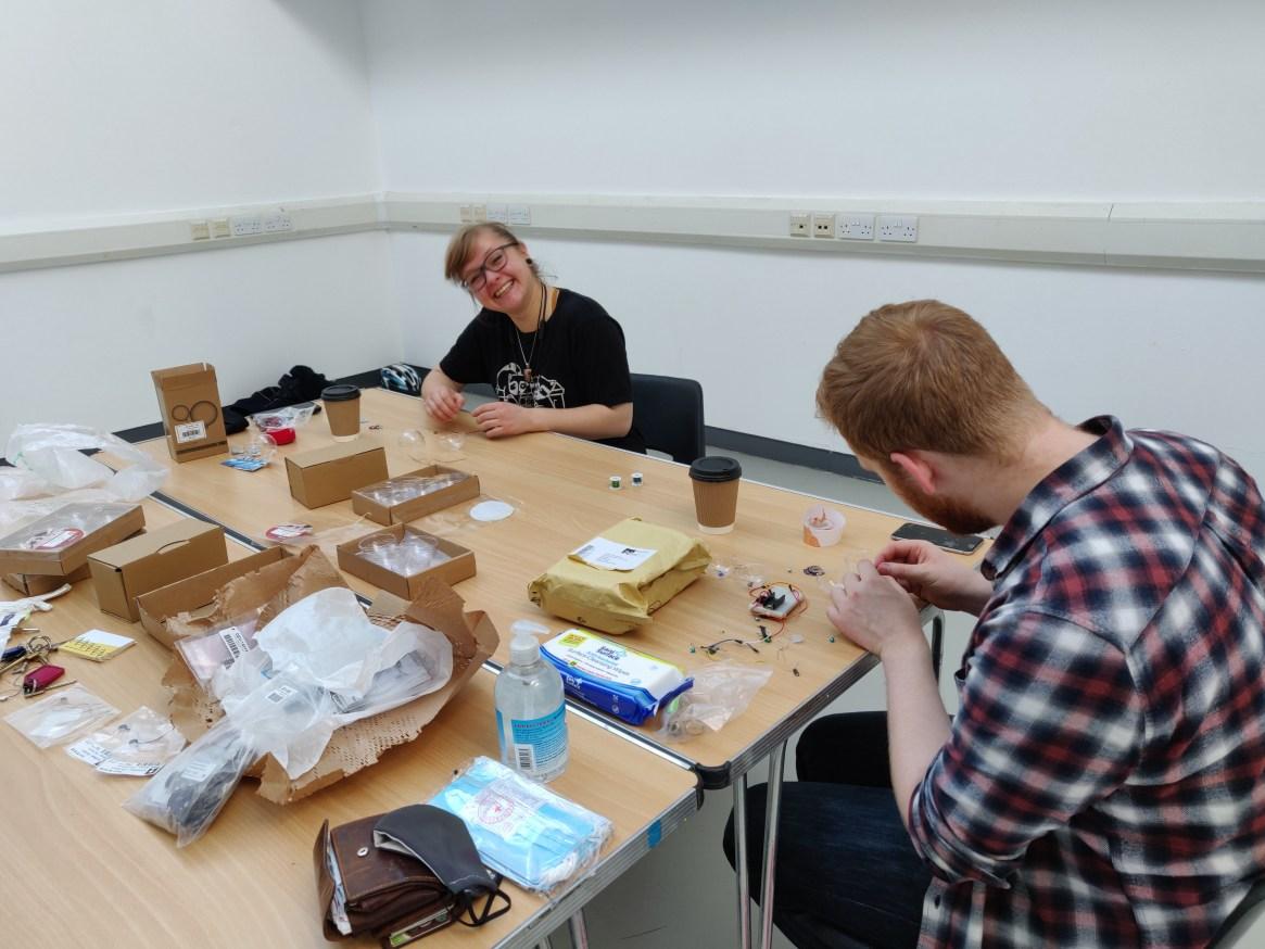 Tinderbox Makerbox Team Working At Desks