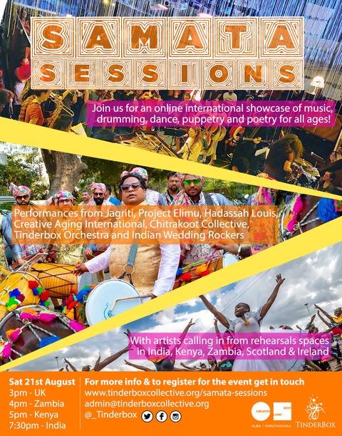 Samata Sessions Poster + IWR