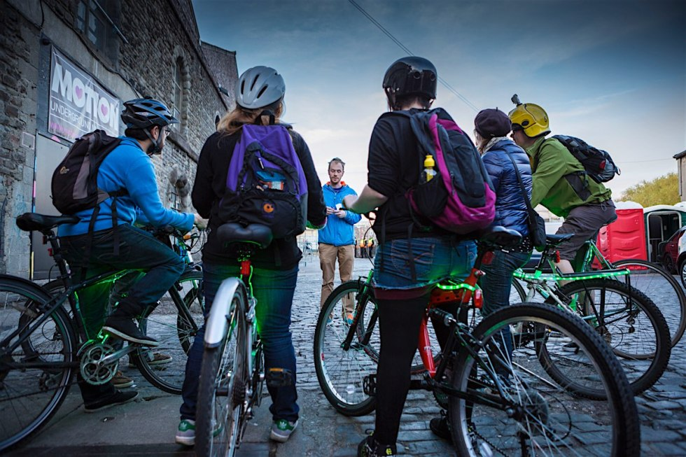Playable City Sprint Presenting BikeTAG Video