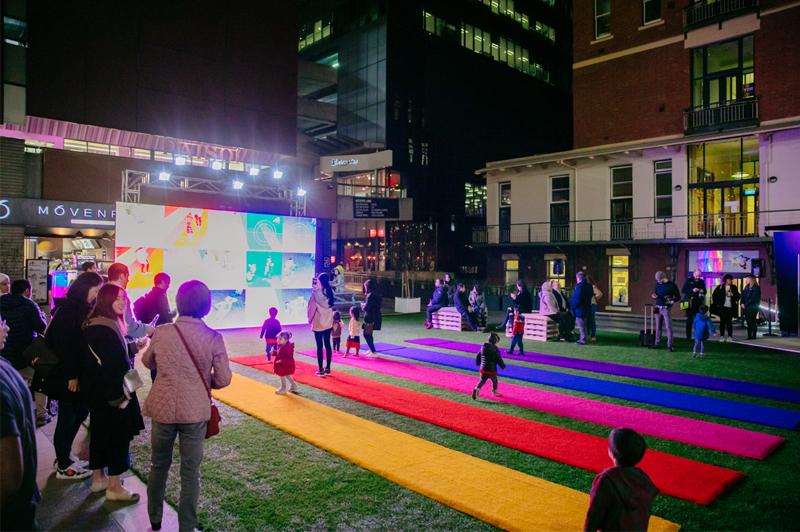 Colour Me Beautiful, Interactive, Public Art, Tine Bech Studio