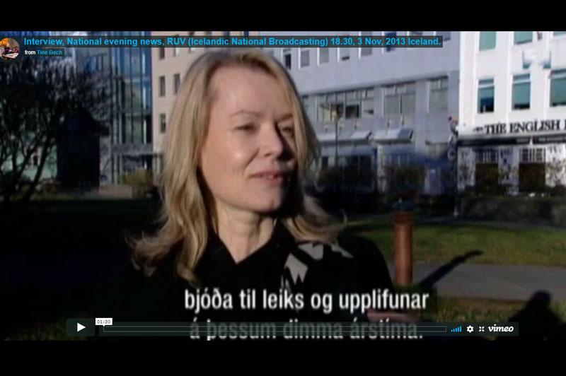 Interview For Reykjaviks Winter Festival