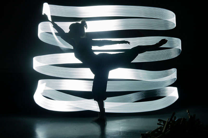 Light Dancers–tine Bech Studio