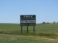 One of the billboards for Wall Drug. There were billboards every mile or two.