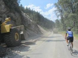 Construction like this is bad when it is the only main road through the mountains.
