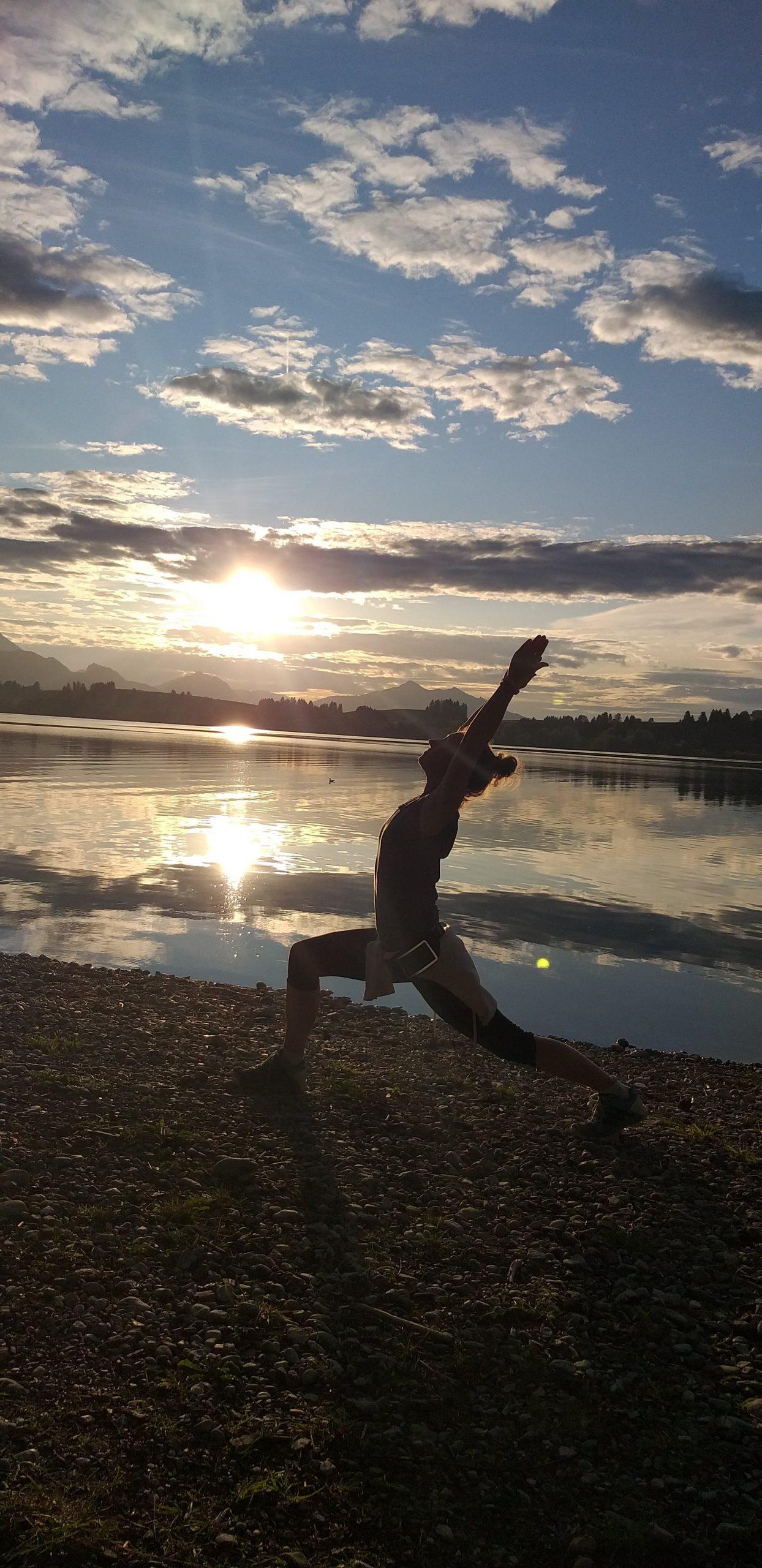 Sonnenuntergang Workout