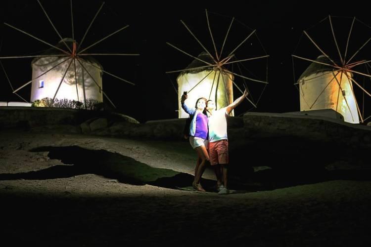 , Windmills of Mykonos