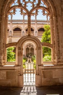 The Cloister Garden at the Monastery of San Juan de los Reyes