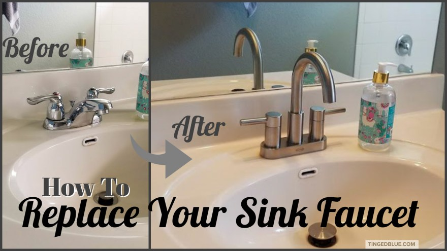 How To Replace A Bathroom Faucet, Replace Bathroom Faucet