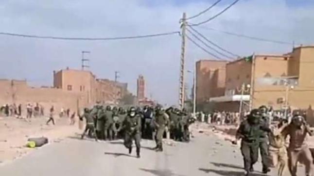 إصابات واعتقالات خلال فض اعتصام فركلة العليا بتنجداد + فيديو