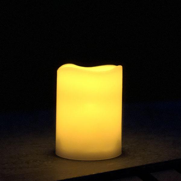LED udendørs bloklys skaber lys og fungerer som en lille udendørs lampe - 3 størrelser