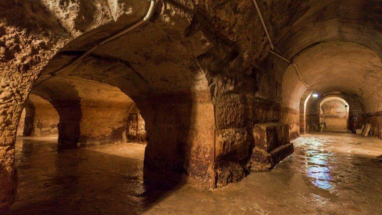 Roman Galleries in Lisbon