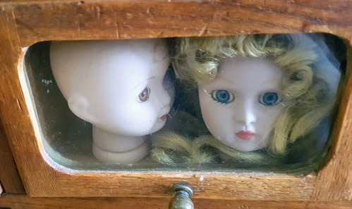 Pretty little heads - don't miss The Dolls Hospital, one of the best attraction around Tings Lisbon