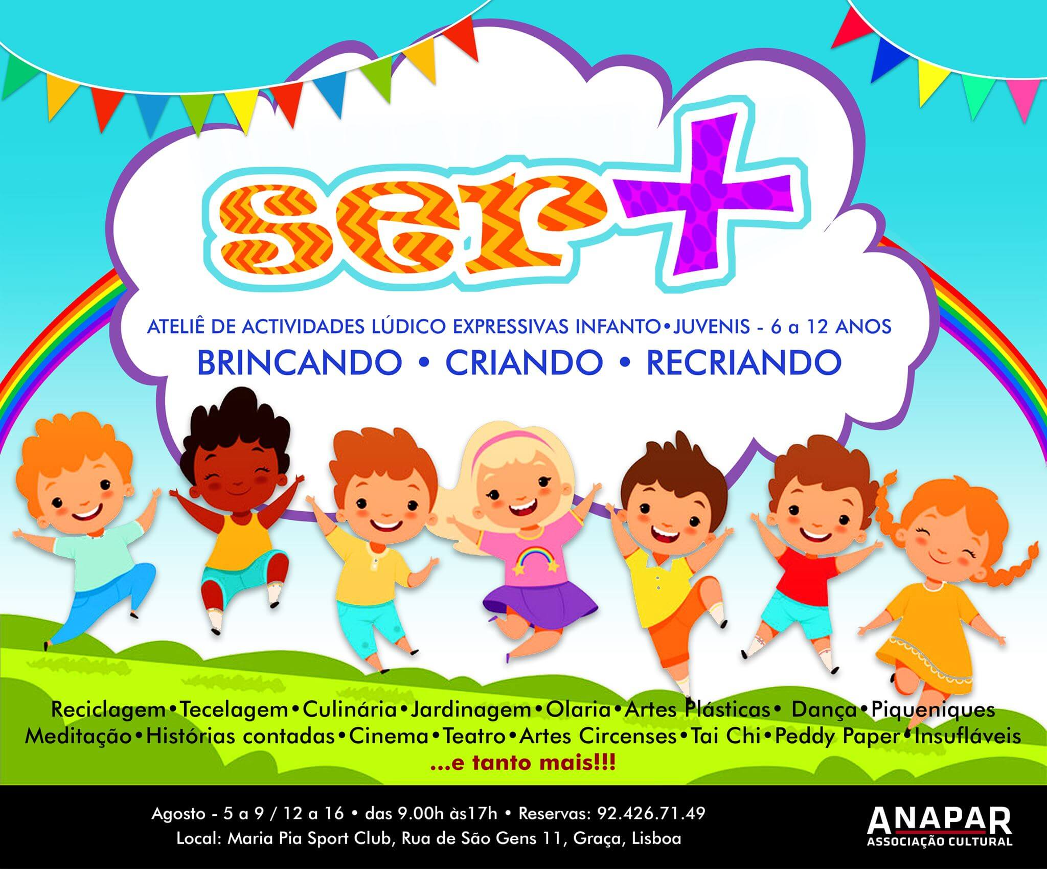 Graça for Kids – 3 weeks in august!
