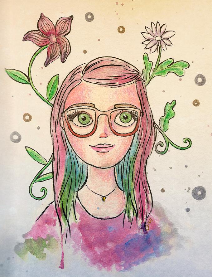 auto-retrato.