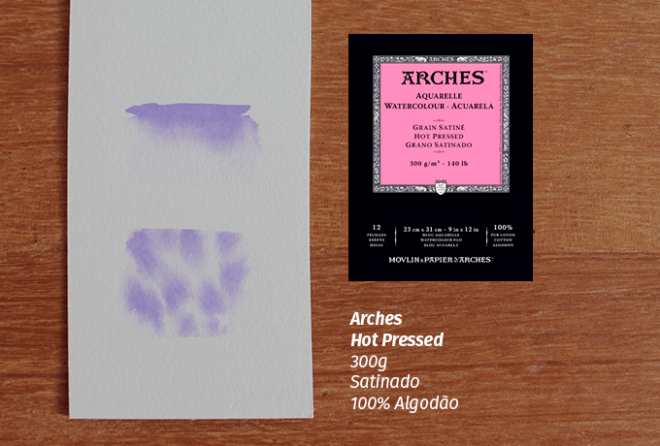 Arches 300g Hotpress Satinado