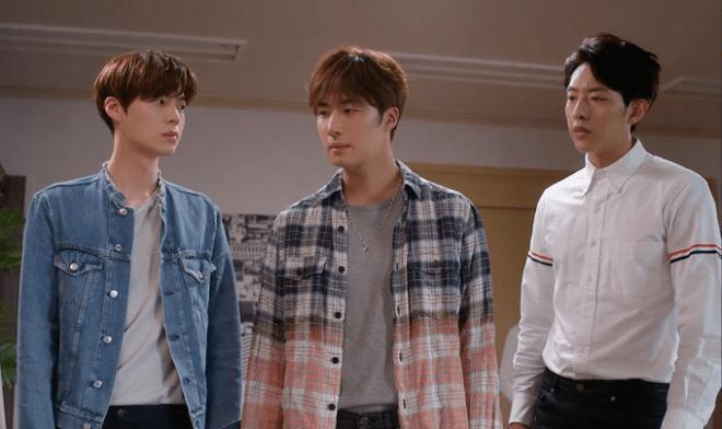 Hyun-min, Ji-Woon e Seo-woo