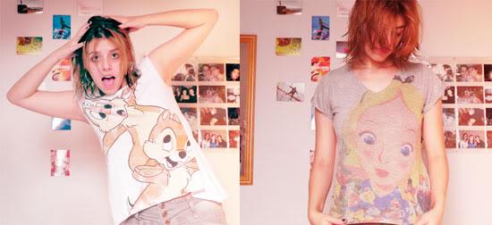 Camisetas - Tico e Teco e Alice