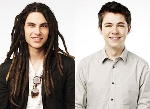 Glee Project - Sam e Damian