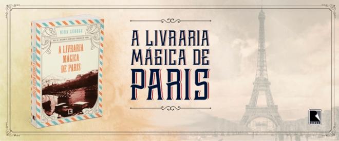 Livro a Livraria Mágica de Paris