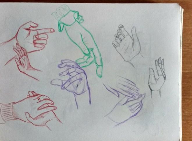 Estudos de mãos
