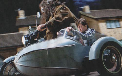 Hagrid e Harry