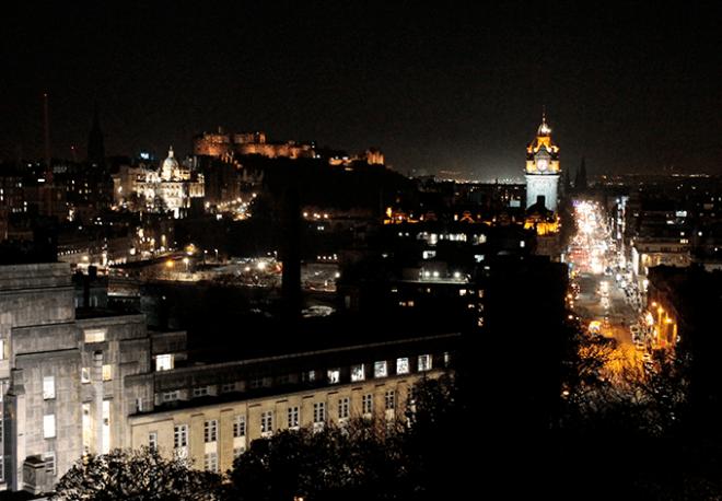 Hotel Balmore de noite