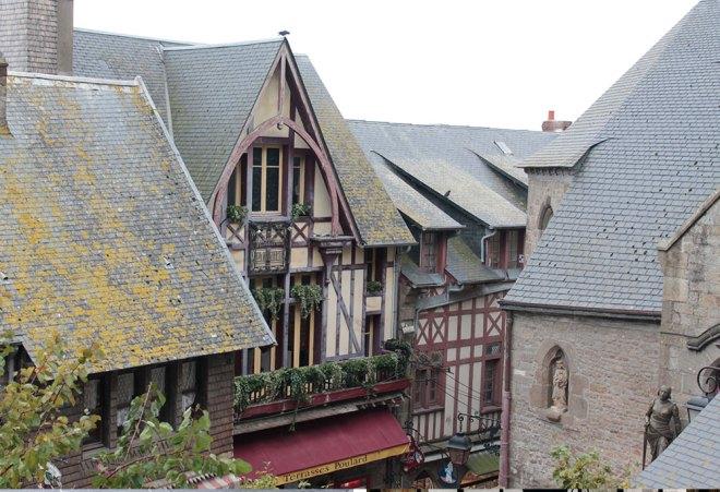 Casinhas em Saint-Michel.