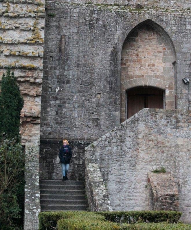 Saida da Abadia de Saint-Michel
