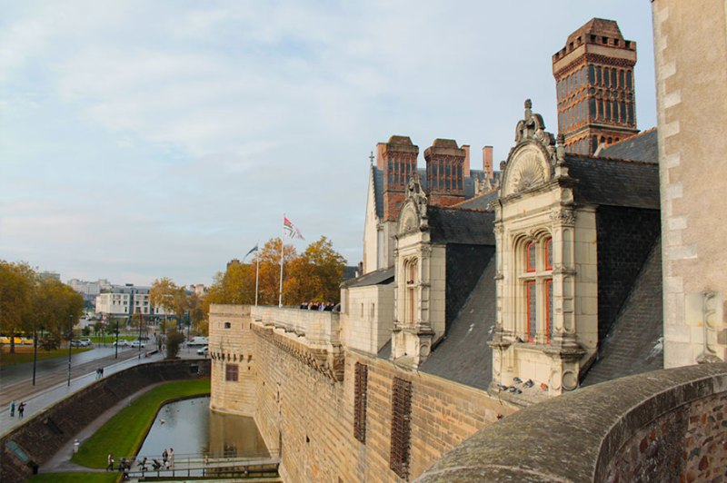 Château des ducs de Bretagne - Castelo dos Duques da Bretanha.
