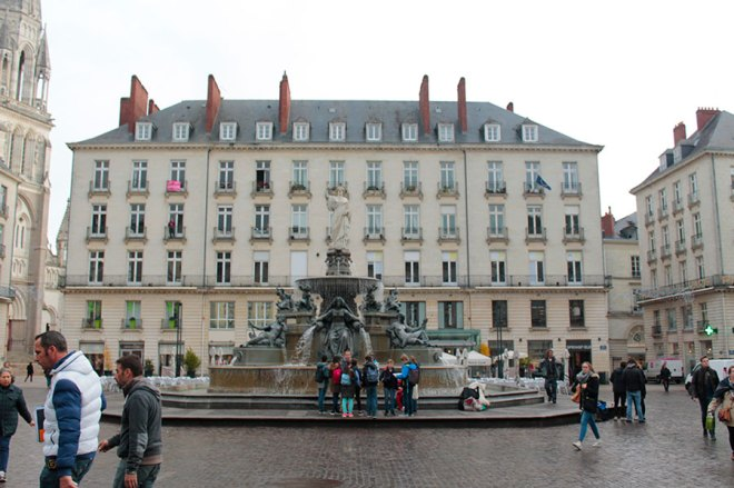 La Place Royale - Nantes