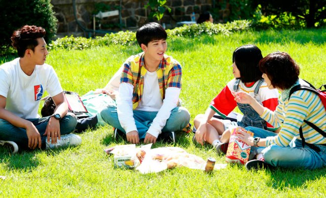 Haetae, Binggeure, Jo Yoon Jin e Na-jung. - Responde 1994