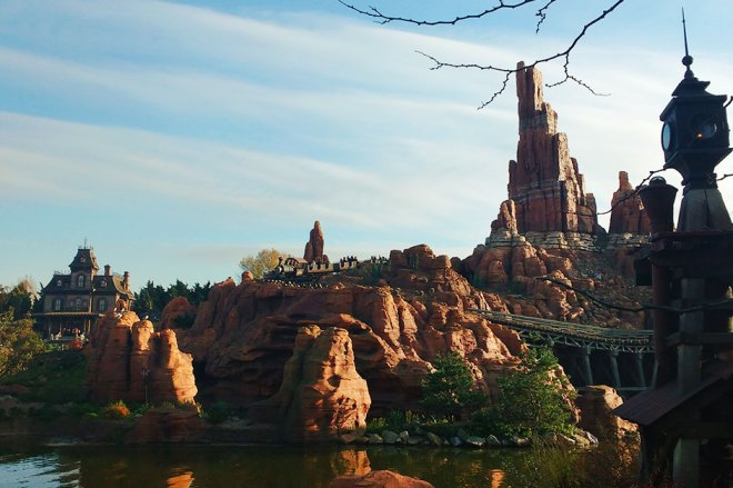 Big Thunder Mountain na Disney Paris