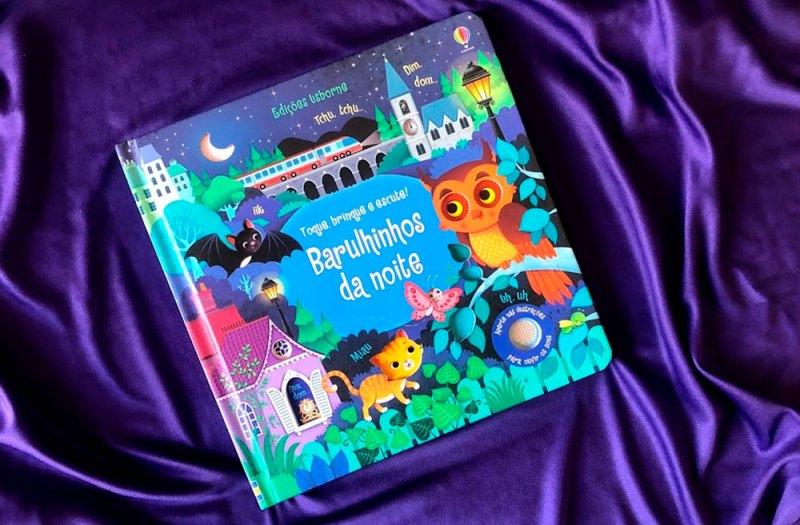 Barulhinhos da Noite - livros para crianças de 1 ano