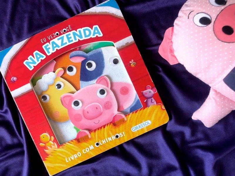 Vejo você na fazenda - livros para crianças de 1 ano