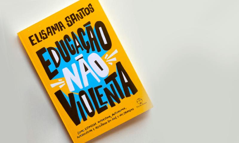 Capa do Livro Educação Não Violenta de Elisama Santos