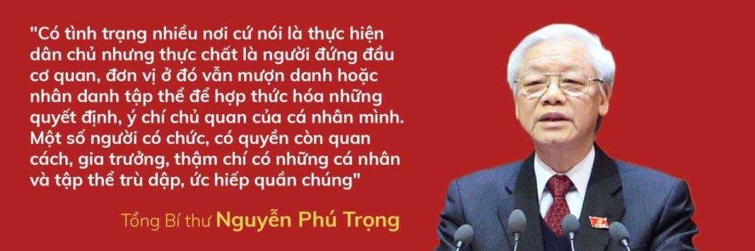 Tổng Bí thư Nguyễn Phú Trọng nói về dân chủ cơ sở - Ảnh 4.